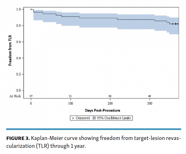 kaplan-meier-curve-freedom-from-target-lesion-revascularization